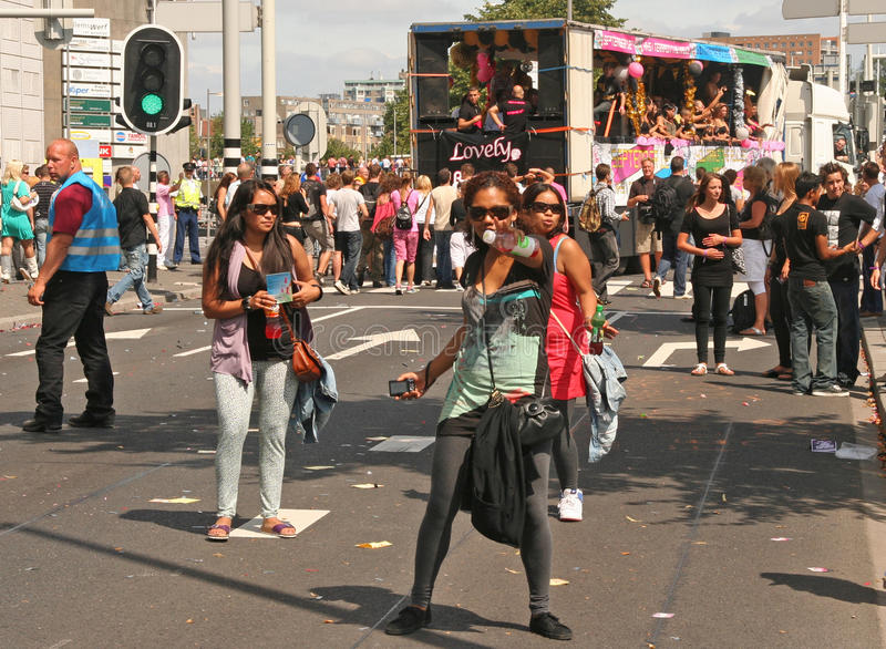 Download Dance Parade editorial photo. Image of street, festival - 10486706