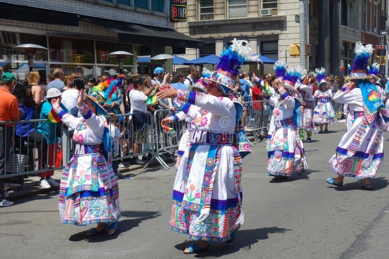 2014 New York City Dance Parade royalty free stock image