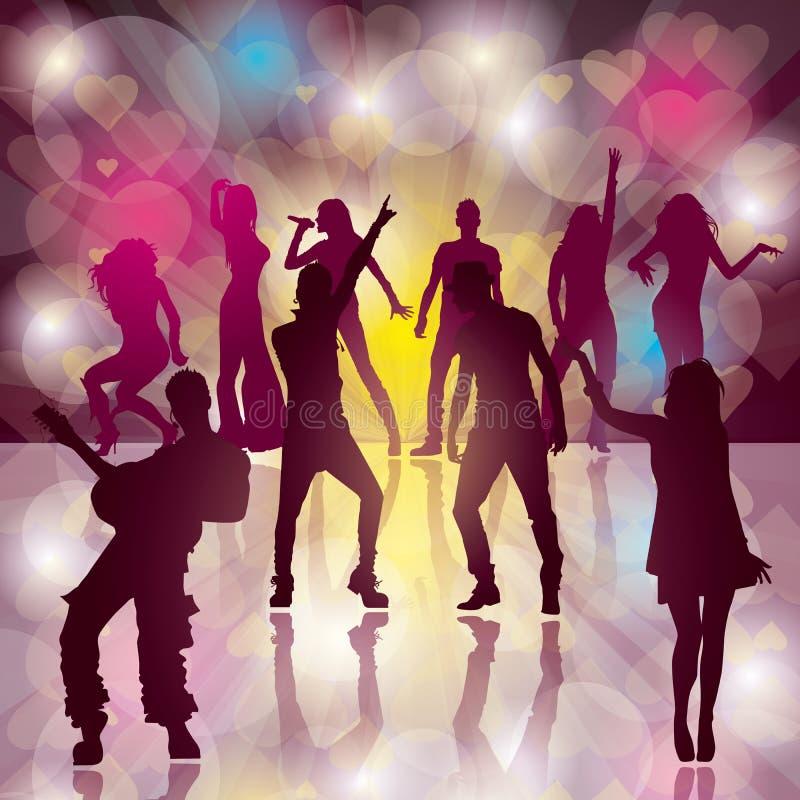 Dance party fotos de stock royalty free