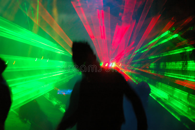 Dance party stock image