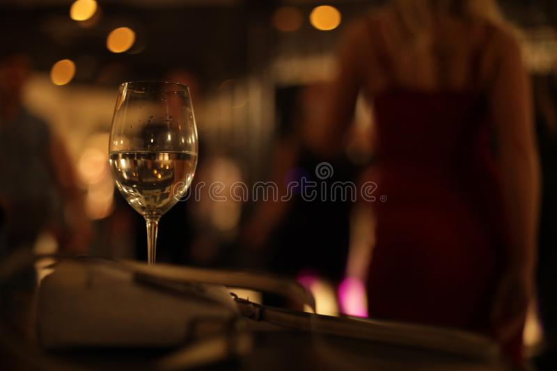 Dance party - alcohol. royalty free stock photo