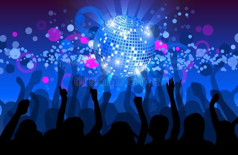 dance party flyer musical background stock vector illustration rh dreamstime com dance party background vector dance party background music