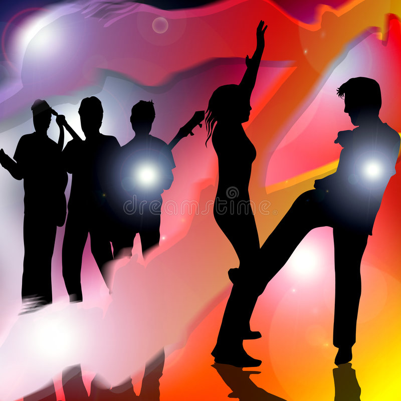 Free Dance Party Music Royalty Free Stock Photo - 3262015