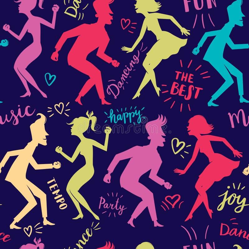 Dance_pattern2 απεικόνιση αποθεμάτων