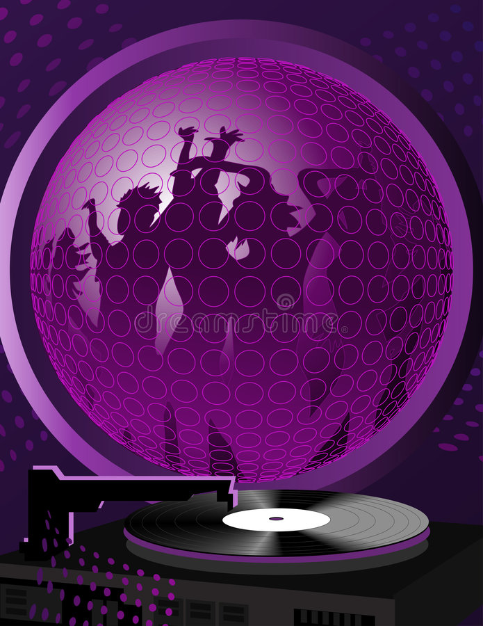 Download Dance People stock vector. Illustration of spin, beat - 7555261