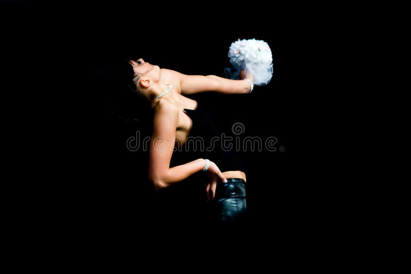 Dance player royalty free stock image