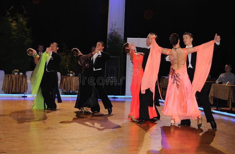 Download Dance Tournament editorial stock image. Image of partnership - 14643264