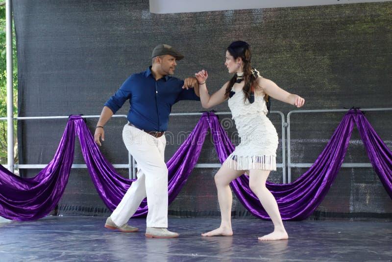 DanceFest 2014 στην πόλη 126 της Νέας Υόρκης στοκ εικόνες