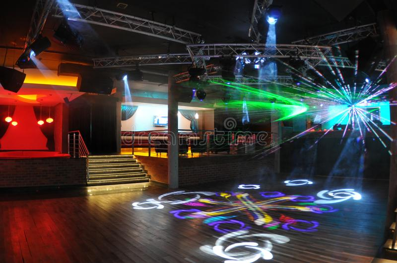 Dancefloor stock photography