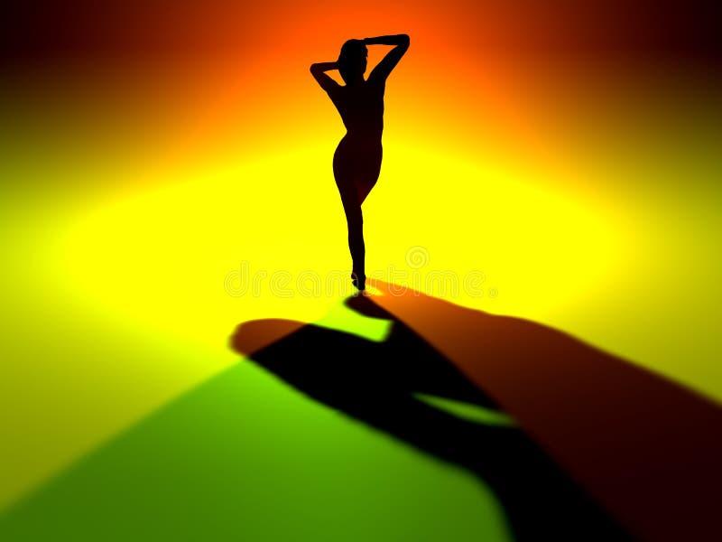 Download Dancefloor stock illustration. Image of modeling, female - 237942