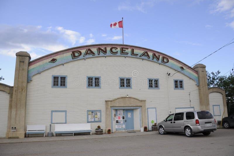 Danceland danshall, Saskatchewan arkivbilder