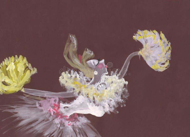 Download Dancer stock illustration. Image of dancer, epoque, retro - 11439784