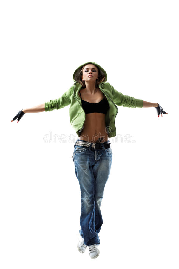Download The dancer stock photo. Image of jumping, modern, behavior - 16581704