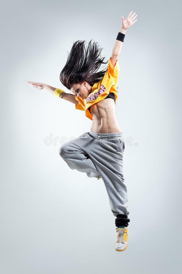 The dancer royalty free stock photo