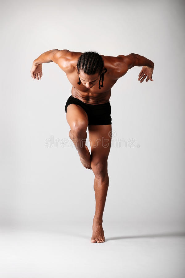 Download The dancer stock photo. Image of balance, handsome, figure - 18544566