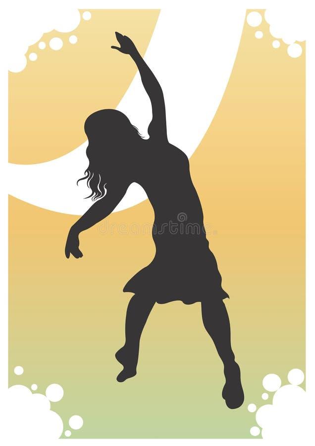 Dancer stock illustration