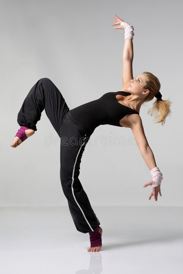 Download Dancer stock photo. Image of aerobics, modern, foot, dancing - 5508548