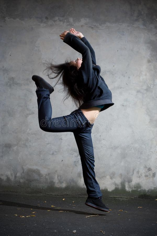Dancer. stock images