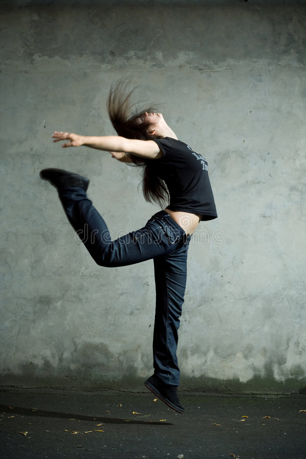 Free Dancer. Stock Images - 6230994