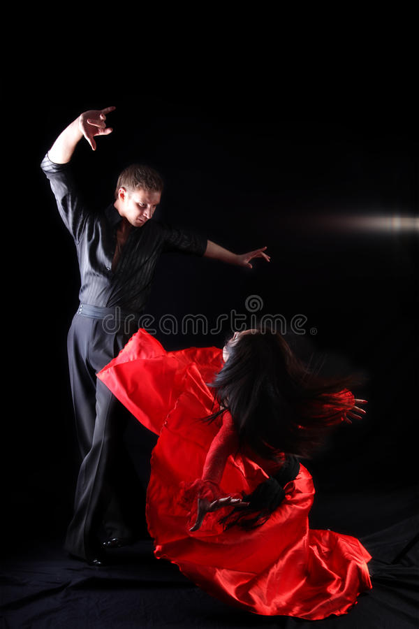 Dancer in action royalty free stock photography