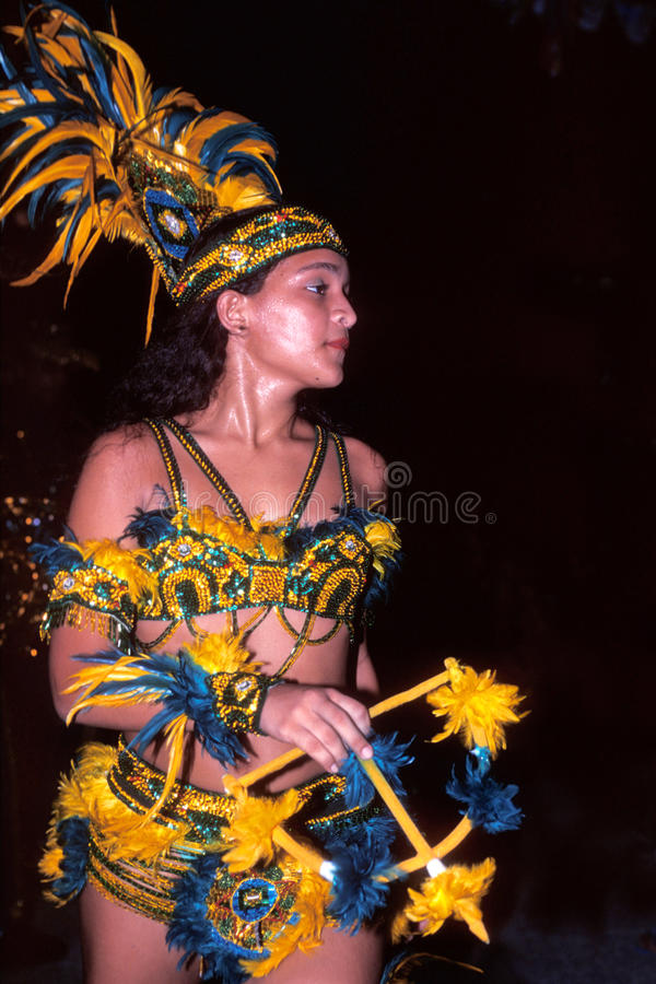 Dancer of brazilian folk dance royalty free stock photo