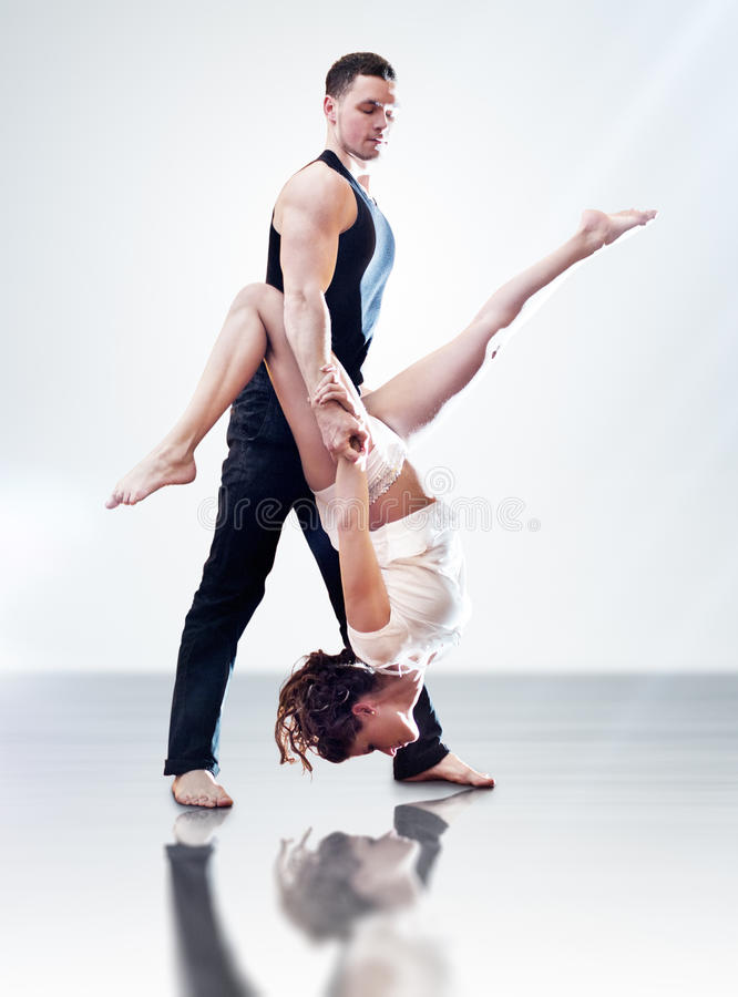 Download Dancer couple stock photo. Image of modern, young, down - 18512822