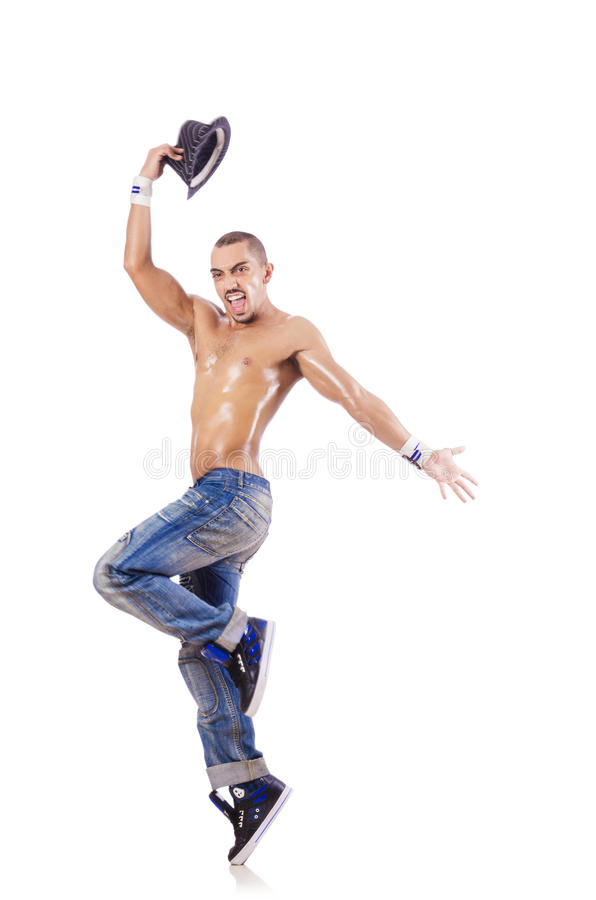 Download Dancer dancing dances stock photo. Image of male, flexibility - 28348586
