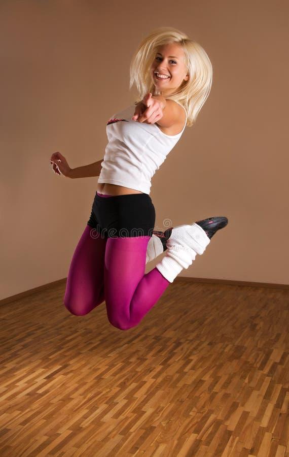 Dancer girl royalty free stock image