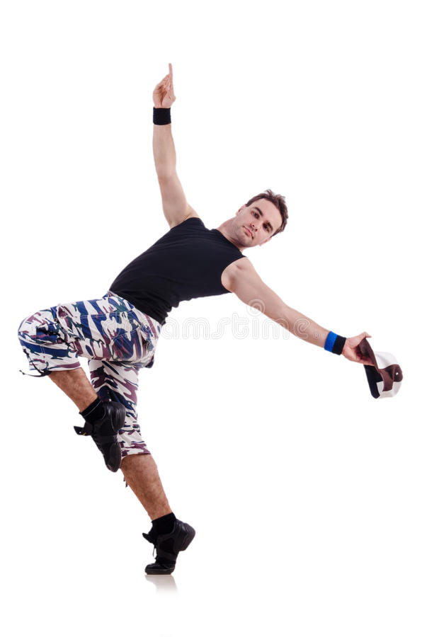 Download Dancer isolated stock photo. Image of motion, jump, balance - 29057704