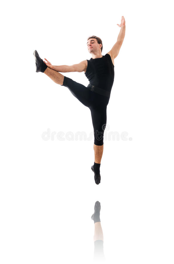 Dancer Isolated Stock Photo