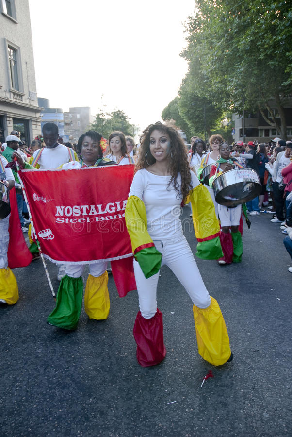 Dancer from the Nostalgia float