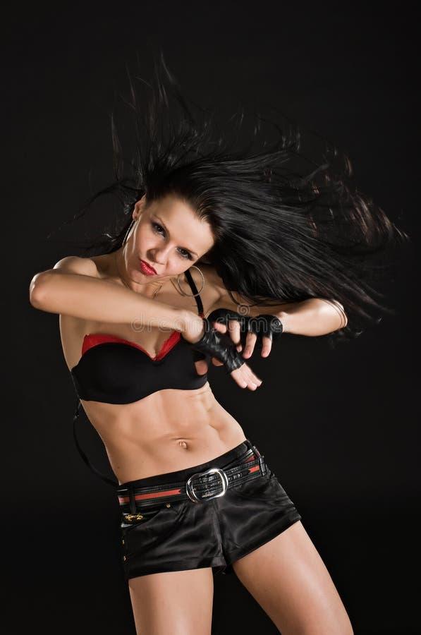 Free Dancer On Black Background Royalty Free Stock Photo - 13190865
