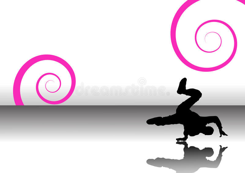 Download Dancer swirls stock vector. Image of image, composed - 16827234