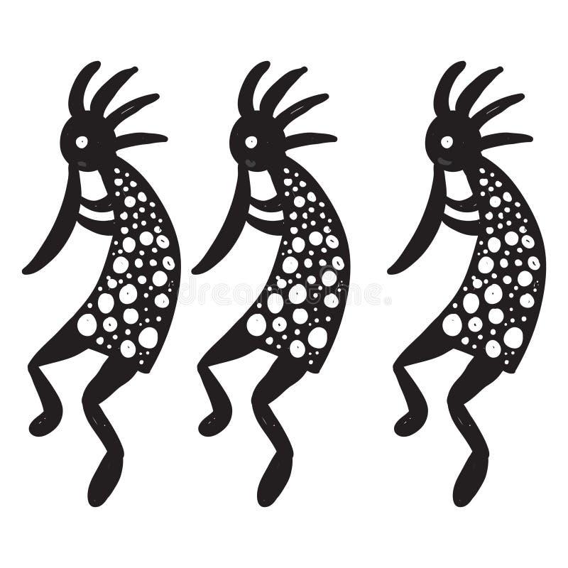 Download Dancers stock illustration. Image of music, hand, sketch - 16035909