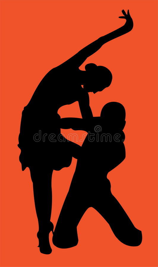 Download Dancers stock illustration. Illustration of music, shouting - 4752223