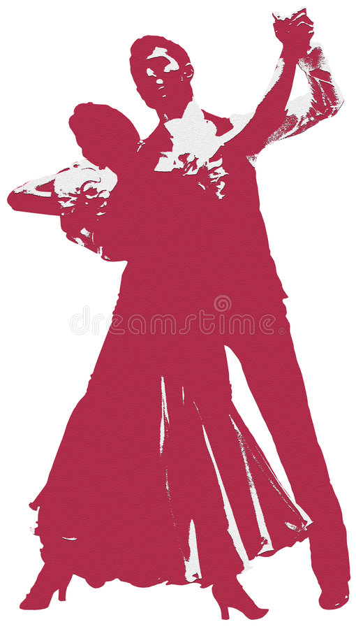 Download Dancers stock illustration. Image of hold, happy, fitness - 5240170