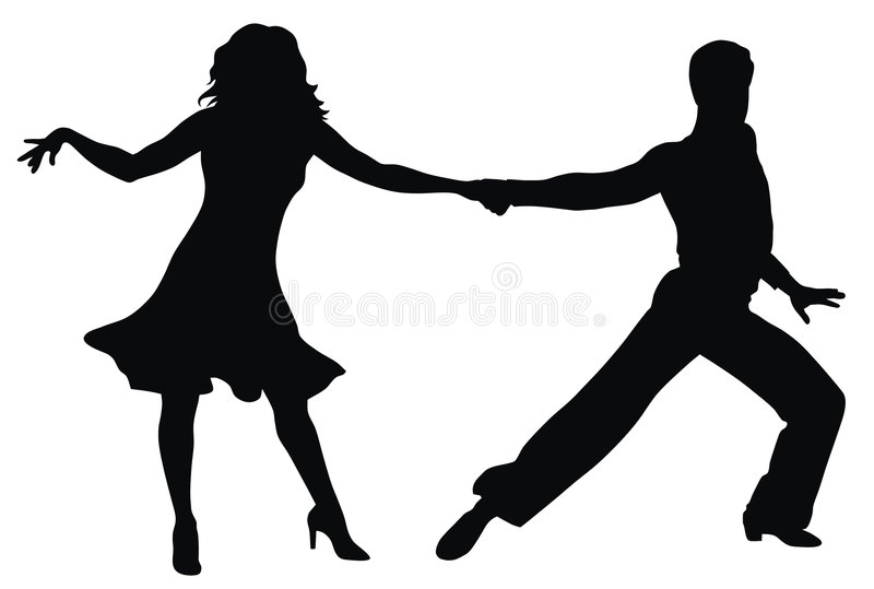 Download Dancers stock vector. Illustration of mambo, motion, quickstep - 7428054