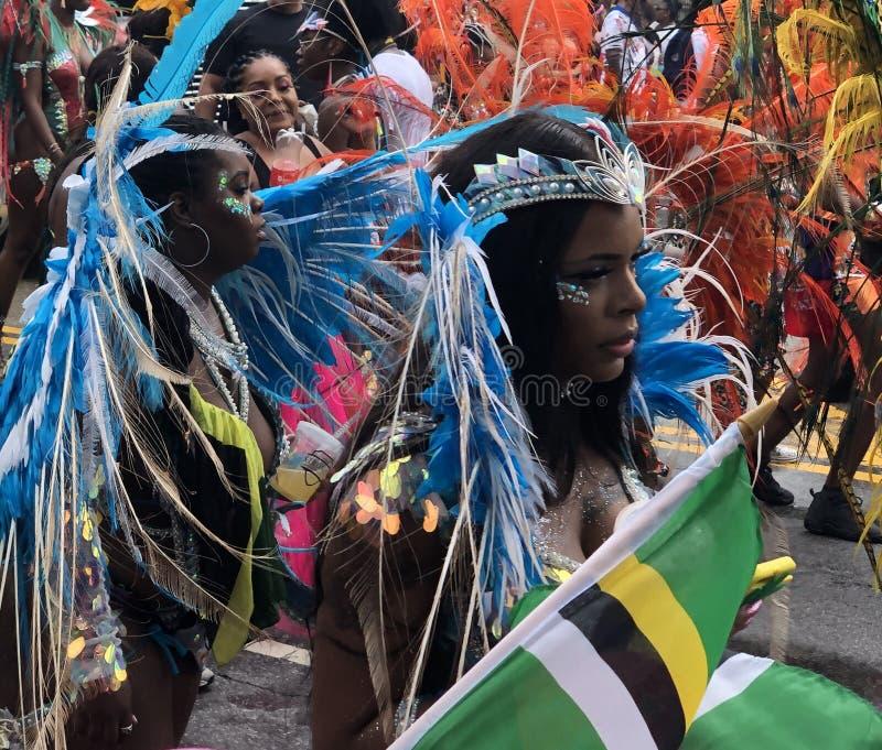 Annual Caribbean Day Parade, Carnival, New York City royalty free stock photos