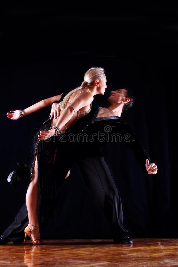 Download Dancers in ballroom stock photo. Image of cool, action - 11354548