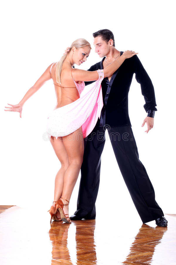 Download Dancers In Ballroom Royalty Free Stock Photos - Image: 11372428