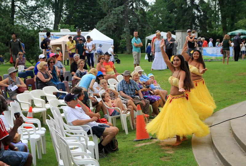 Dancers at Festival royalty free stock photos