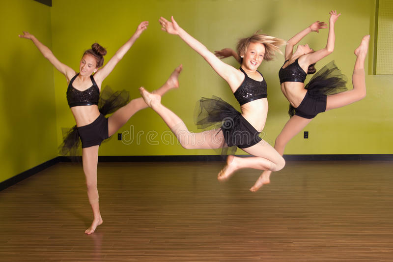 Download Dancers jumping stock photo. Image of high, athletic - 37713090