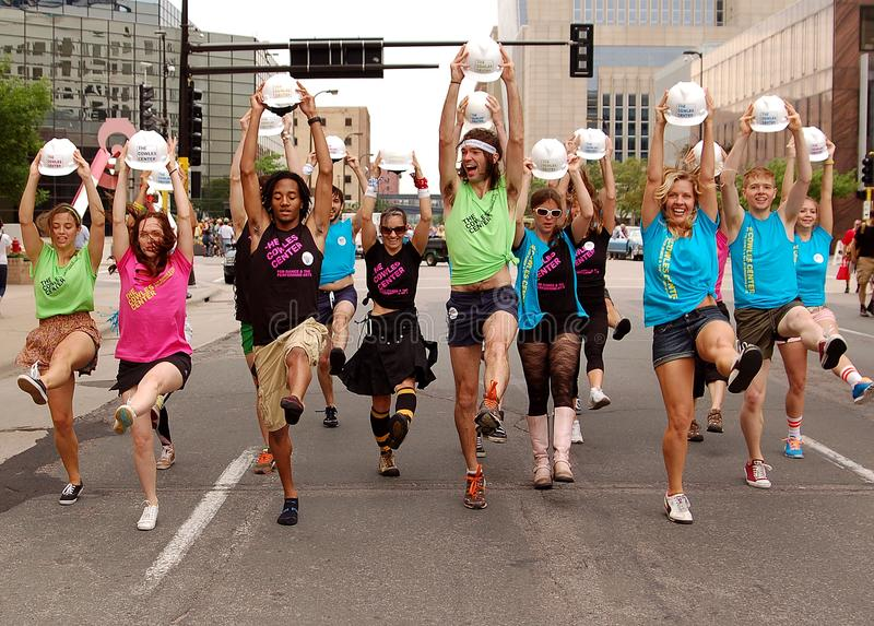 Download Dancers in a Parade editorial stock photo. Image of spirit - 20061198