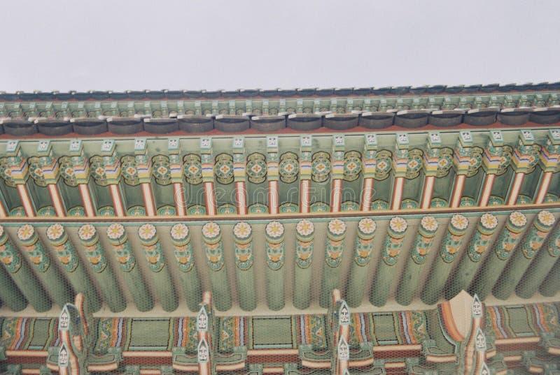 Dancheong fotografía de archivo libre de regalías