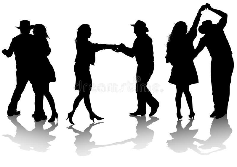 Dancing royalty illustrazione gratis
