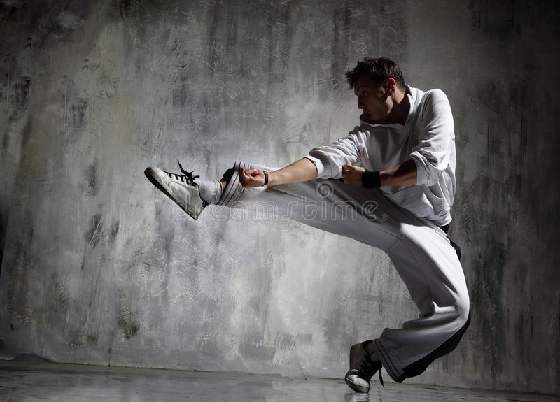 Download Dancing stock photo. Image of male, night, freestyle, music - 3298890