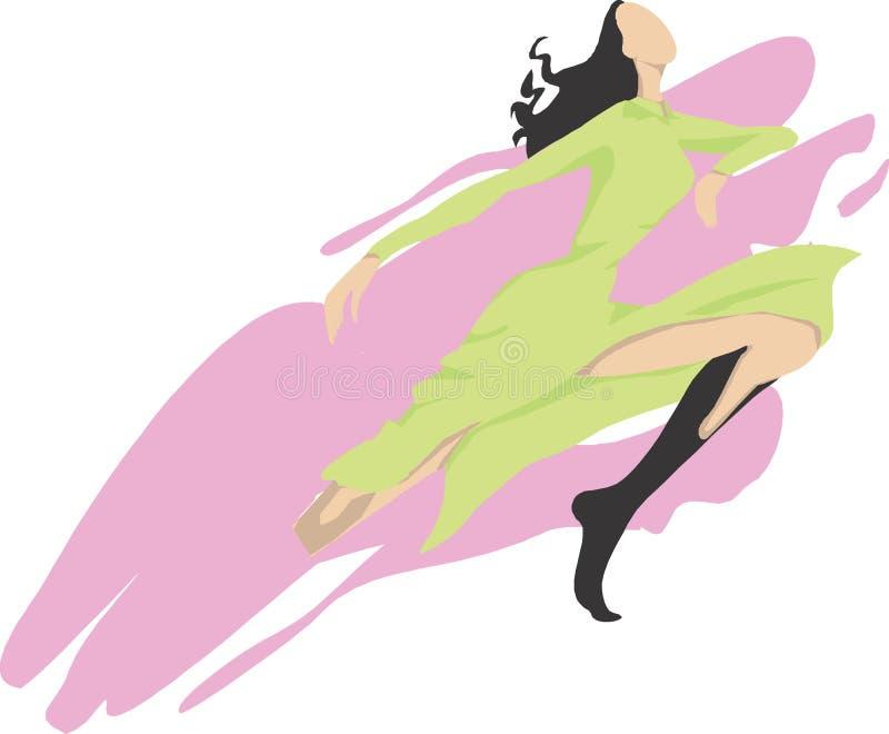 Dancing illustrazione vettoriale