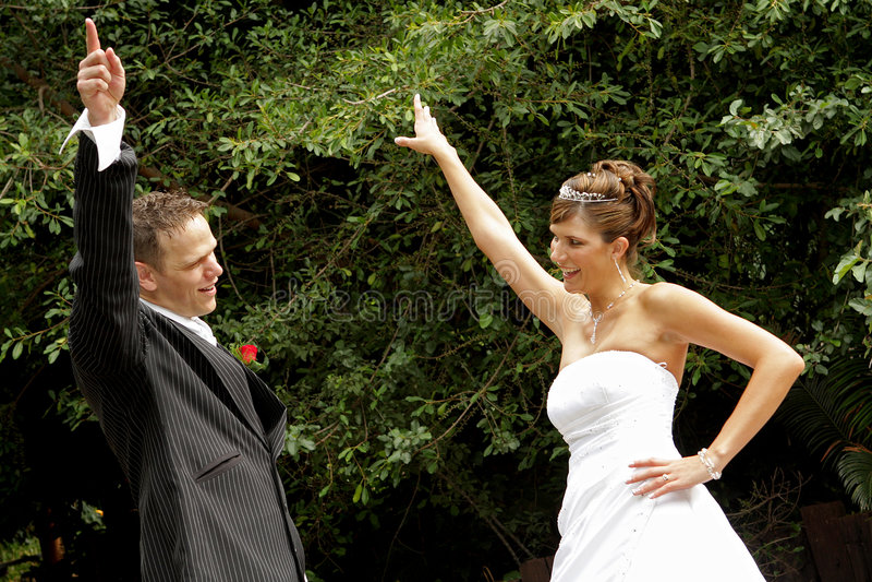 Dancing royalty free stock photos