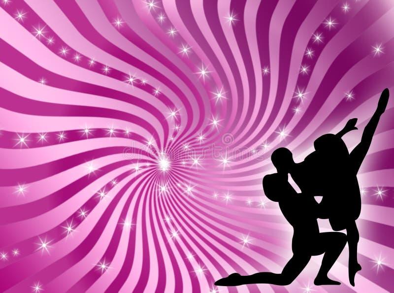 Dancing illustrazione di stock