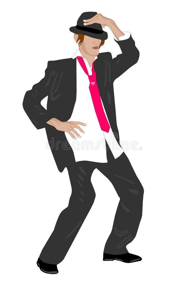 Dancing vector illustration